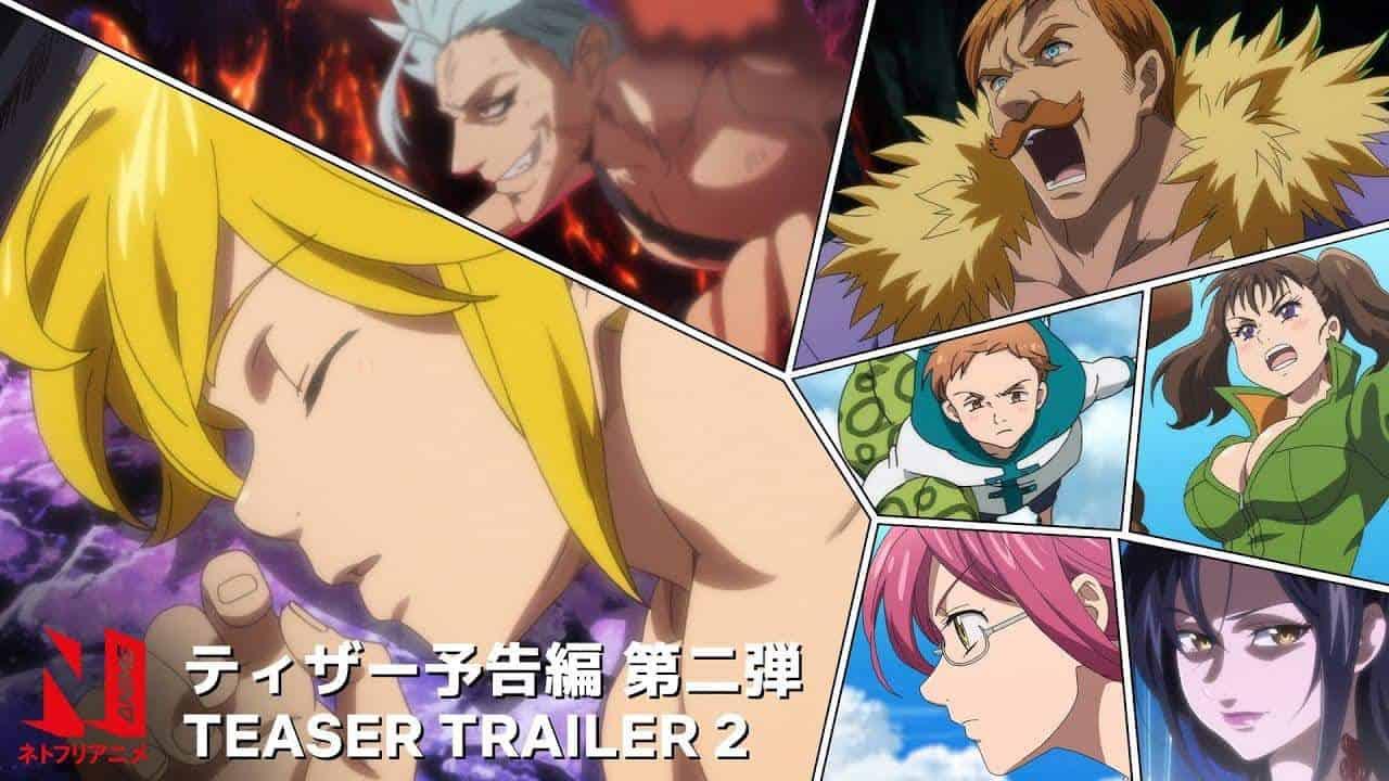 Nouvelle bande-annonce pour la saison 4 de NANATSU NO TAIZAI 23