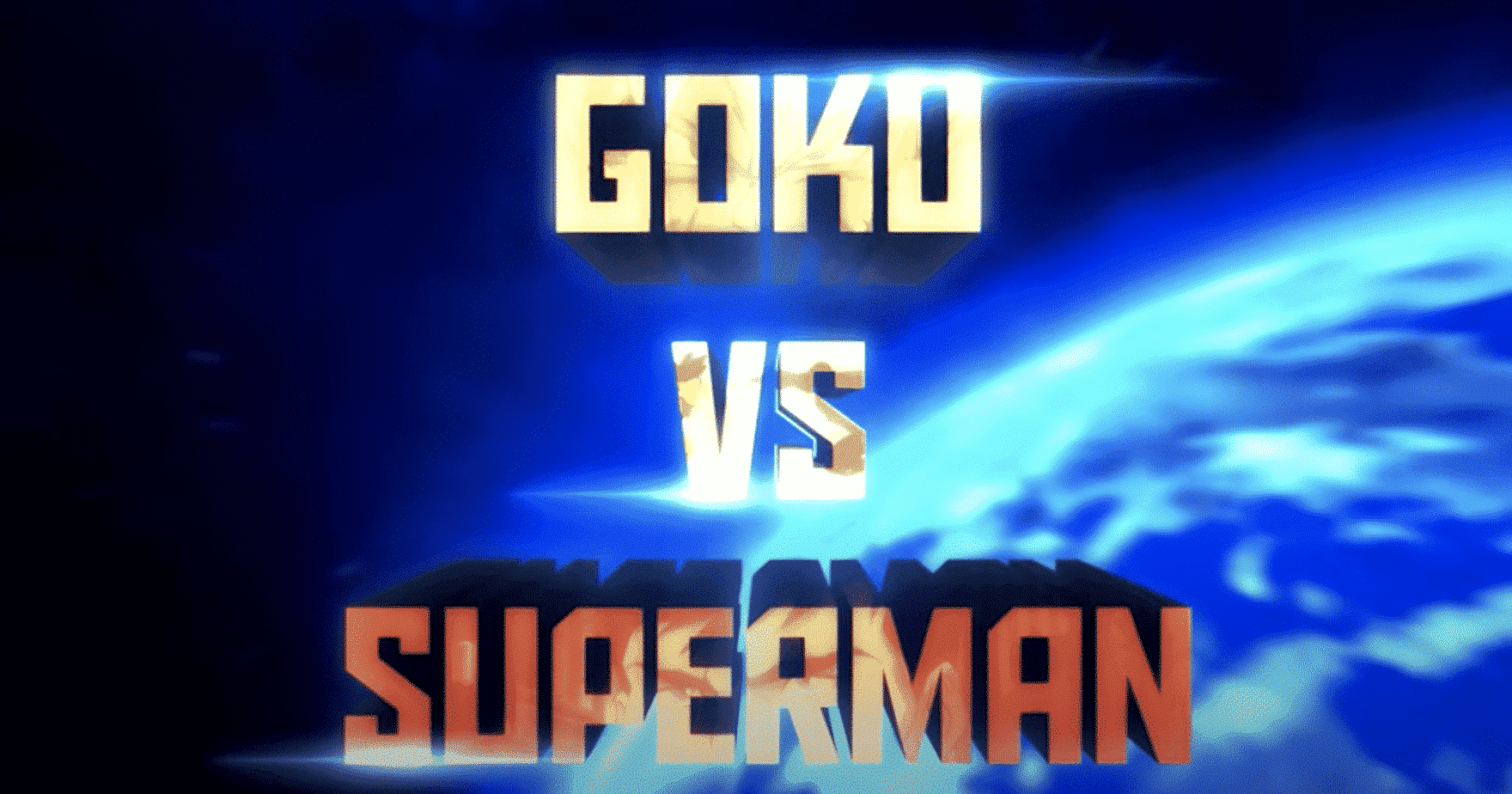Goku Vs Superman – Fan Animation