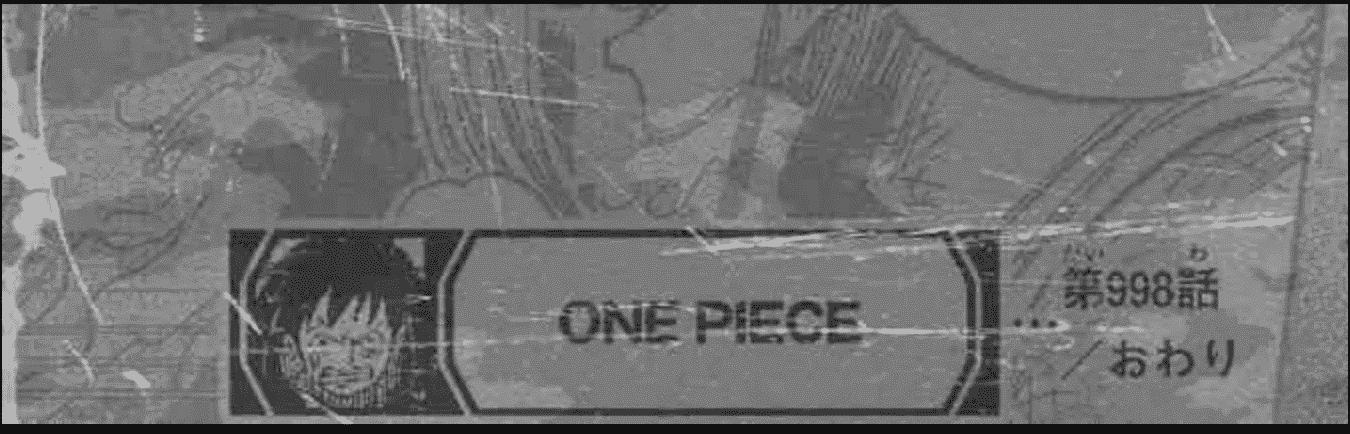 Les spoilers de One piece chapitre 998 3