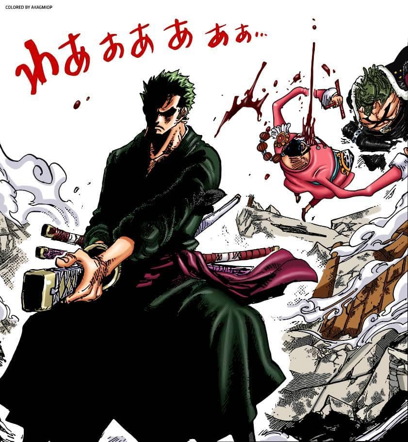 One piece chapitre 997 - Le One Shot de Roronoa Zoro 22