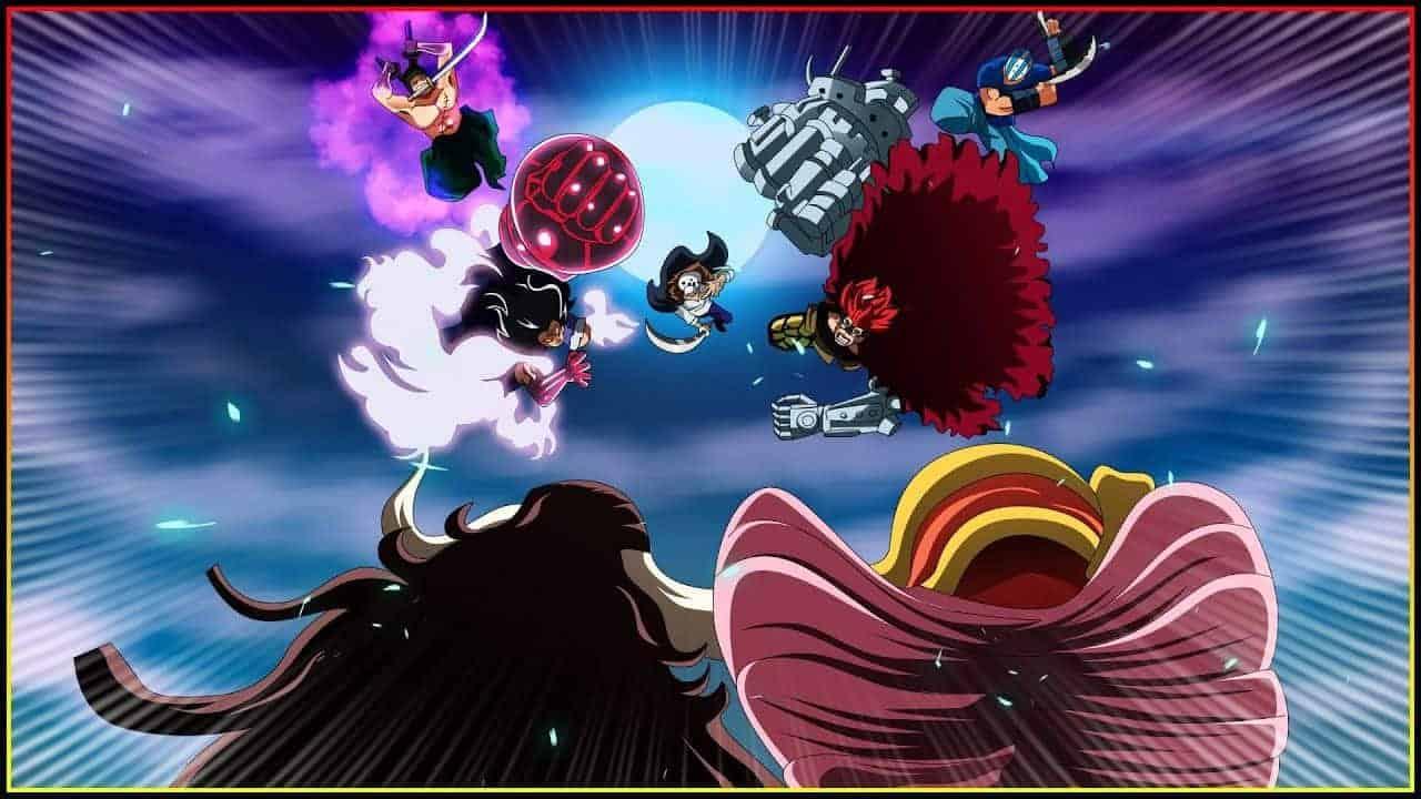 One Piece Chapitre 1001 Animation - La Bataille décisive des monstres d'onigashima 21