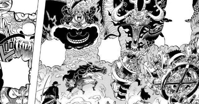 """Supernova """"Grande Guerre"""" Yonko et 8 détails remarquables dans One Piece chapitre 1001 9"""