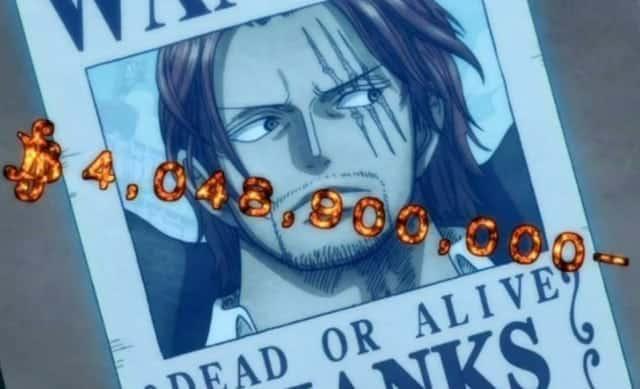 One Piece: Le niveau recherché du roi des pirates et du Yonko a été montré dans l'anime, en regardant en arrière, il y a encore des «nombres énormes» 24