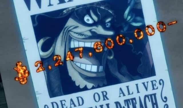 One Piece: Le niveau recherché du roi des pirates et du Yonko a été montré dans l'anime, en regardant en arrière, il y a encore des «nombres énormes» 25