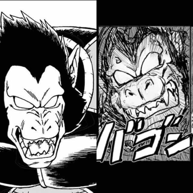 """Dragon Ball Super chapitre 68: Le massacreur du clan de Granola est le père de Goku, il est sur le point d'être un autre guerrier plus fort que """"Gorille"""". 4"""