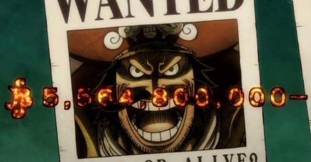 One Piece: Le niveau recherché du roi des pirates et du Yonko a été montré dans l'anime, en regardant en arrière, il y a encore des «nombres énormes» 20
