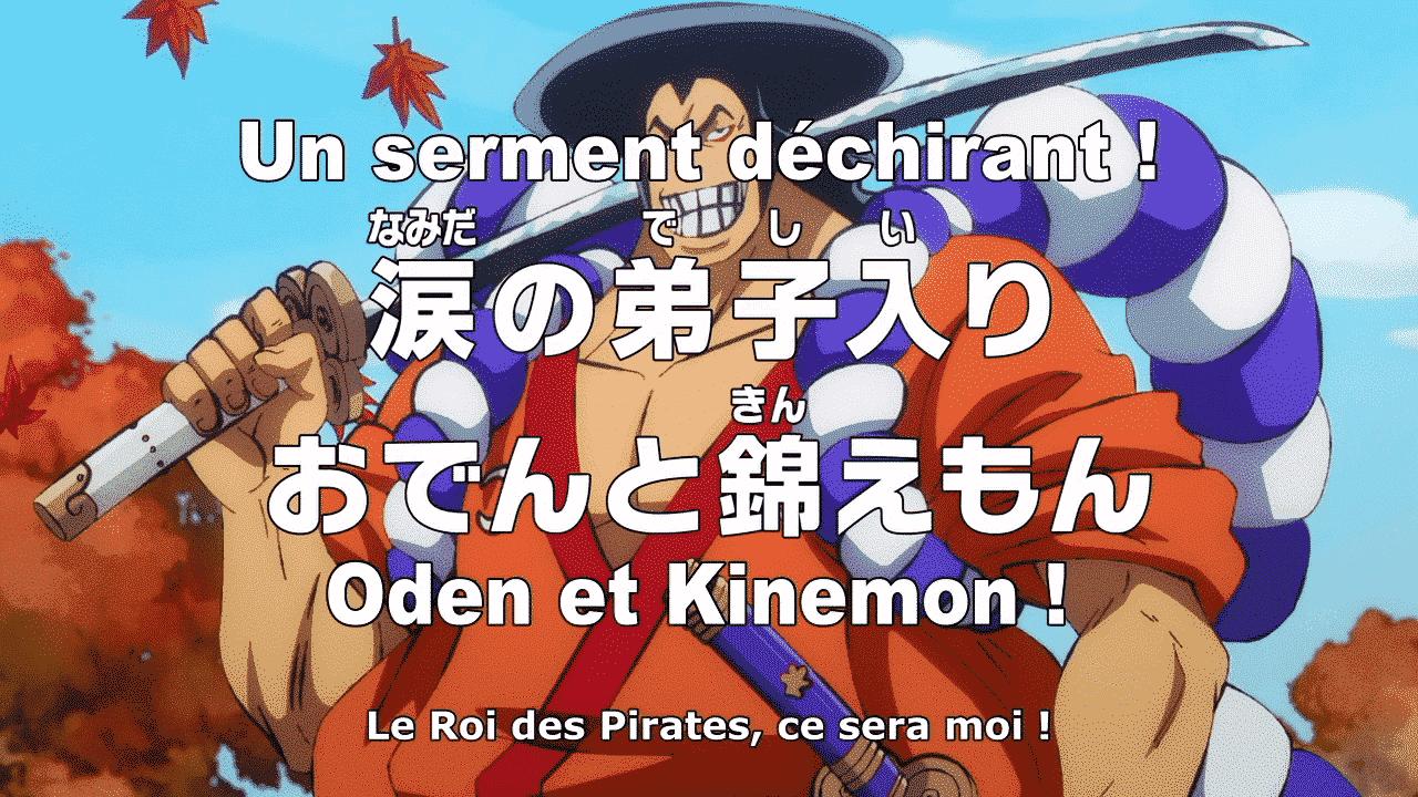 One piece 961 vostfr – Le Serment de Oden