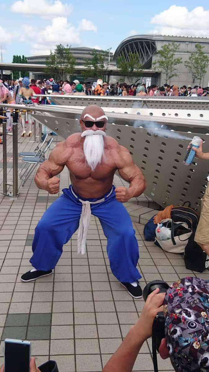 Ce culturiste a recréé Maître Kamé Sennin de Dragon Ball Super dans le meilleur cosplay de tous les temps 11