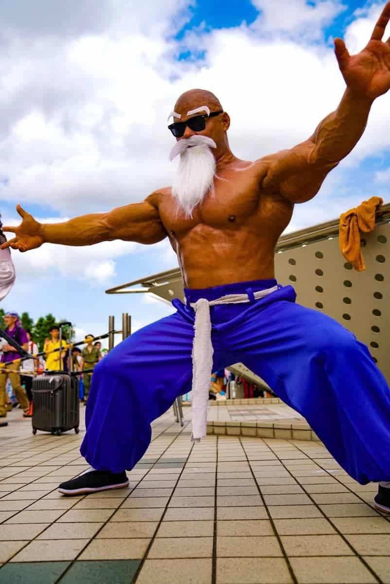 Ce culturiste a recréé Maître Kamé Sennin de Dragon Ball Super dans le meilleur cosplay de tous les temps 6