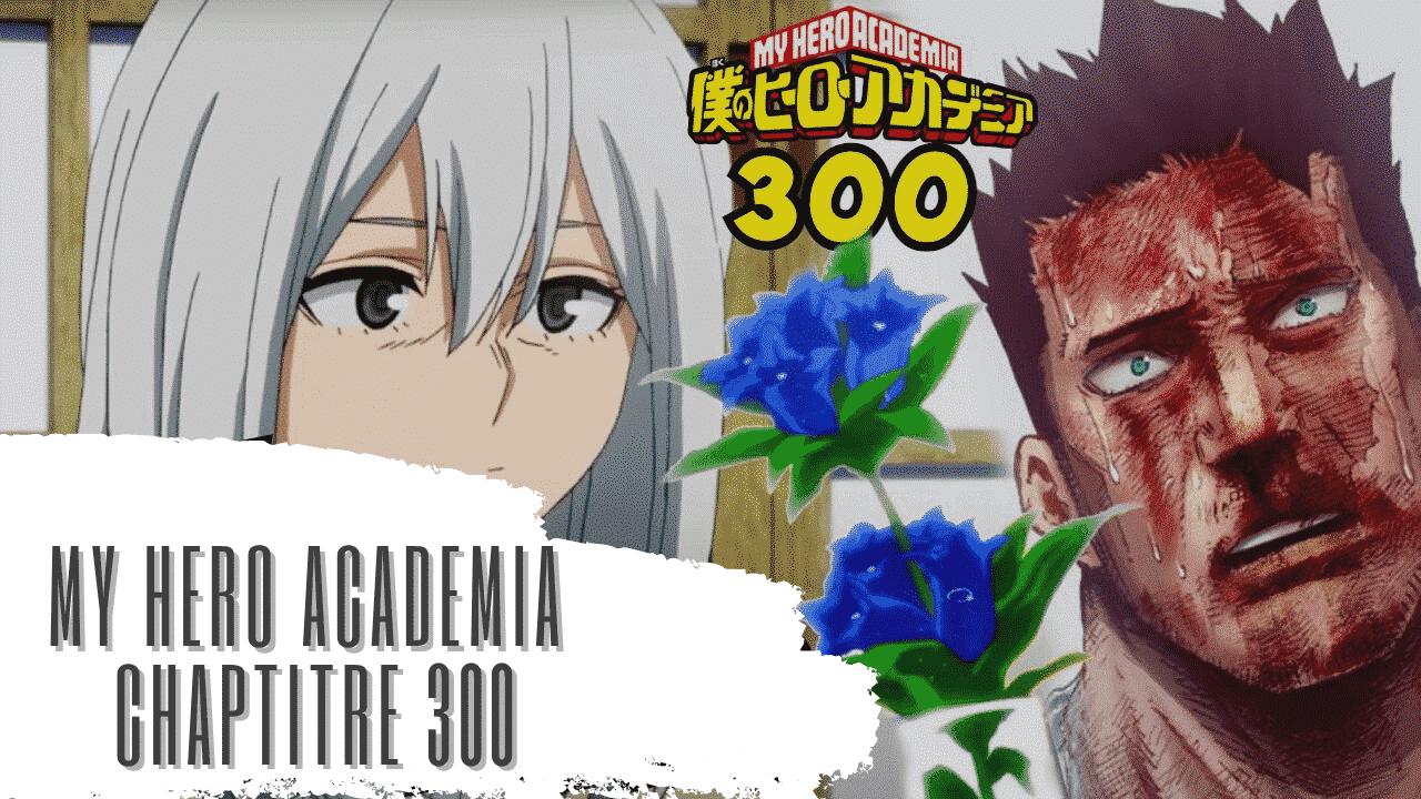 My Hero Academia chapitre 300 Animation 7