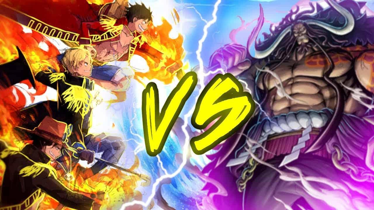 One Piece chapitre 1005 Quelle sera la force de la forme mi-humaine, mi-dragon de Kaido? 18