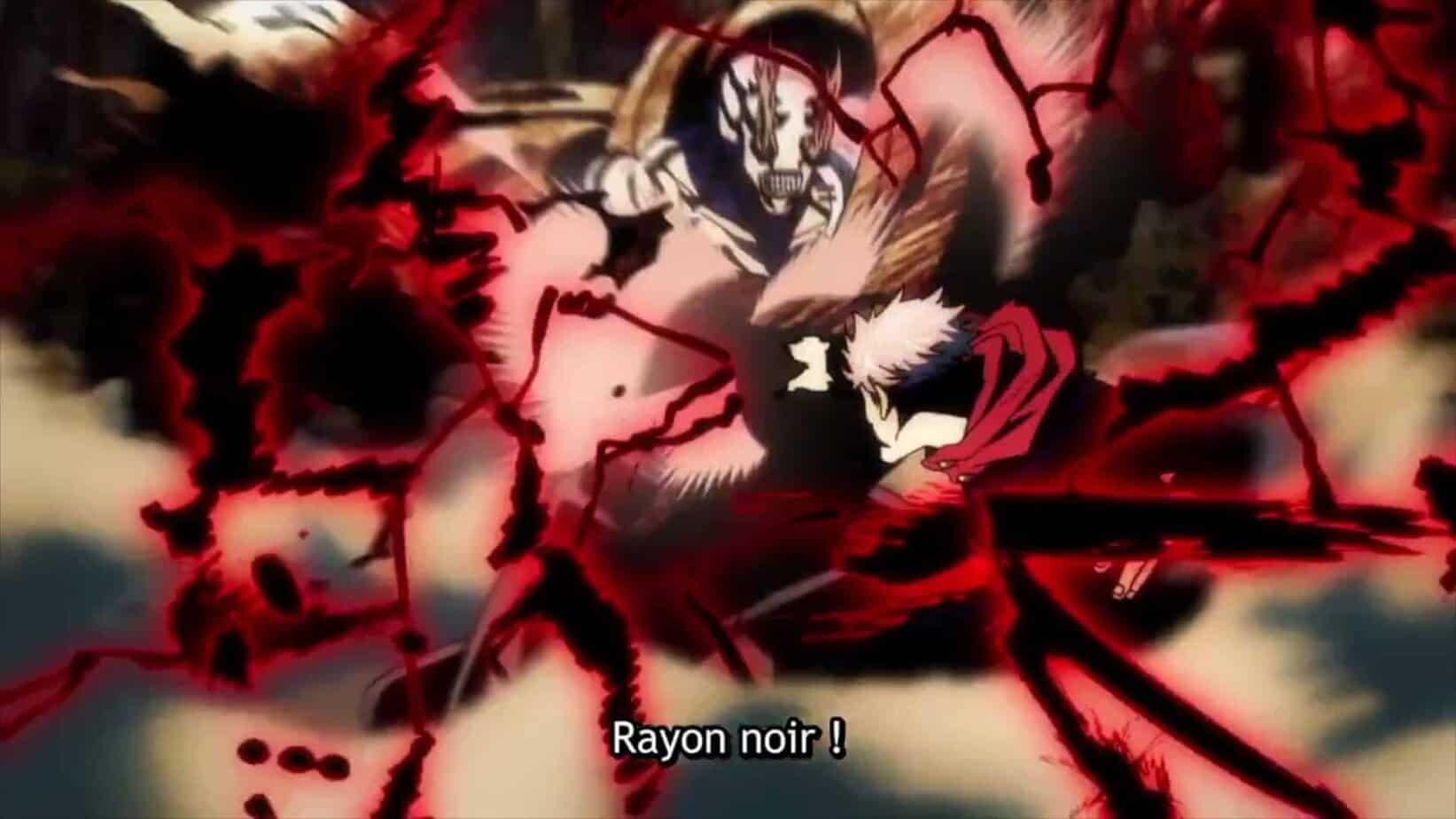 Revue du Jujutsu Kaisen Episode 19 : Itadori apprend le Rayon Noir 1