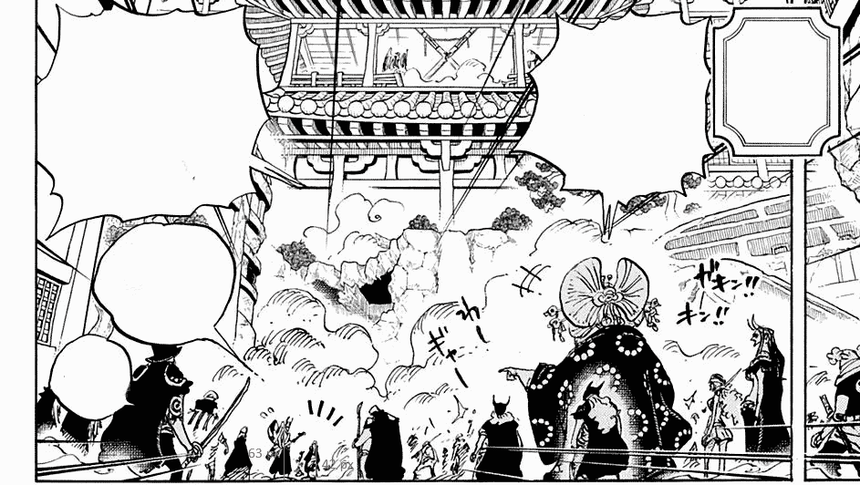 Où se cache Momonosuke dans le chapitre 1005 de One Piece ? 8