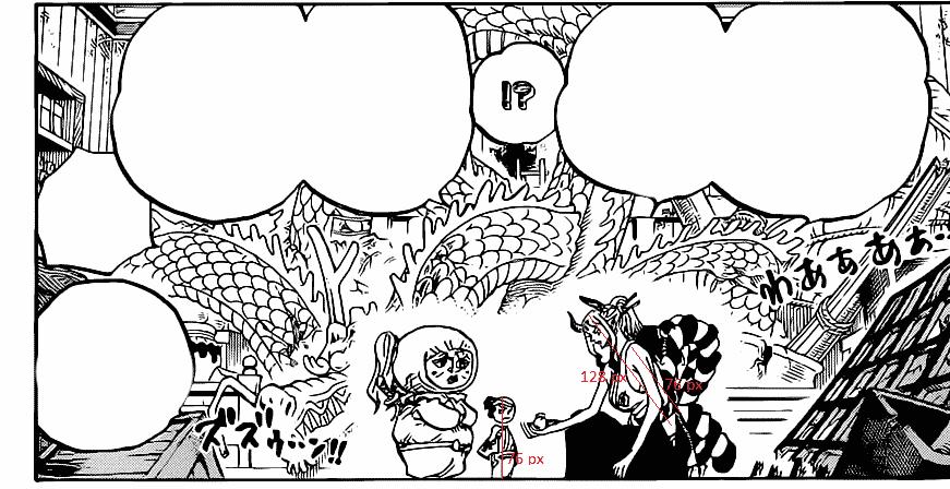 Où se cache Momonosuke dans le chapitre 1005 de One Piece ? 10