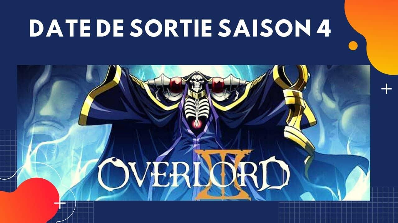 La Date de Sortie de Overlord Saison 4 20