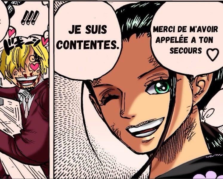 """L'enfant démoniaque"""" Nico Robin va enfin montrer ses capacités ! One piece chapitre 1005 5"""
