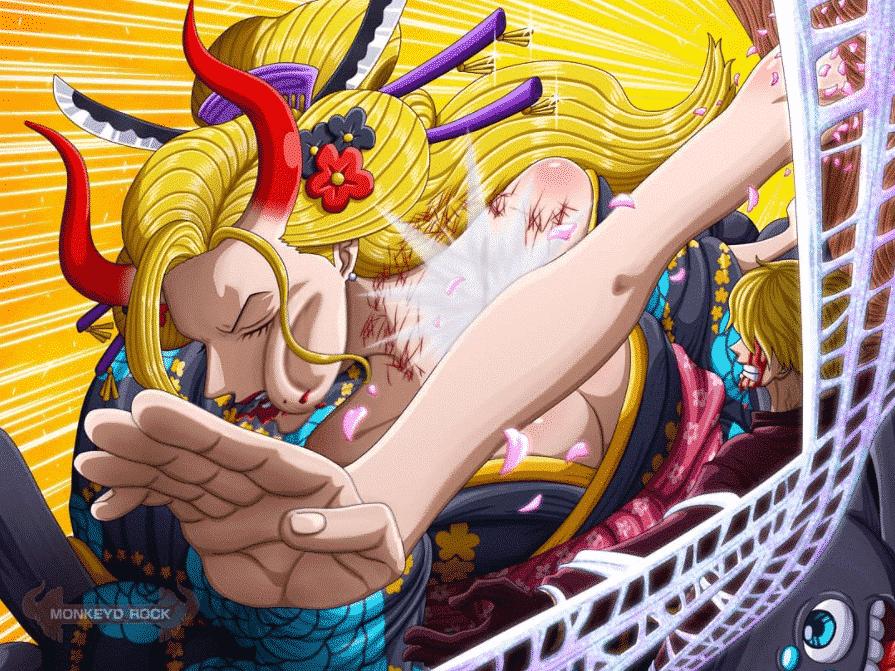 """L'enfant démoniaque"""" Nico Robin va enfin montrer ses capacités ! One piece chapitre 1005 2"""