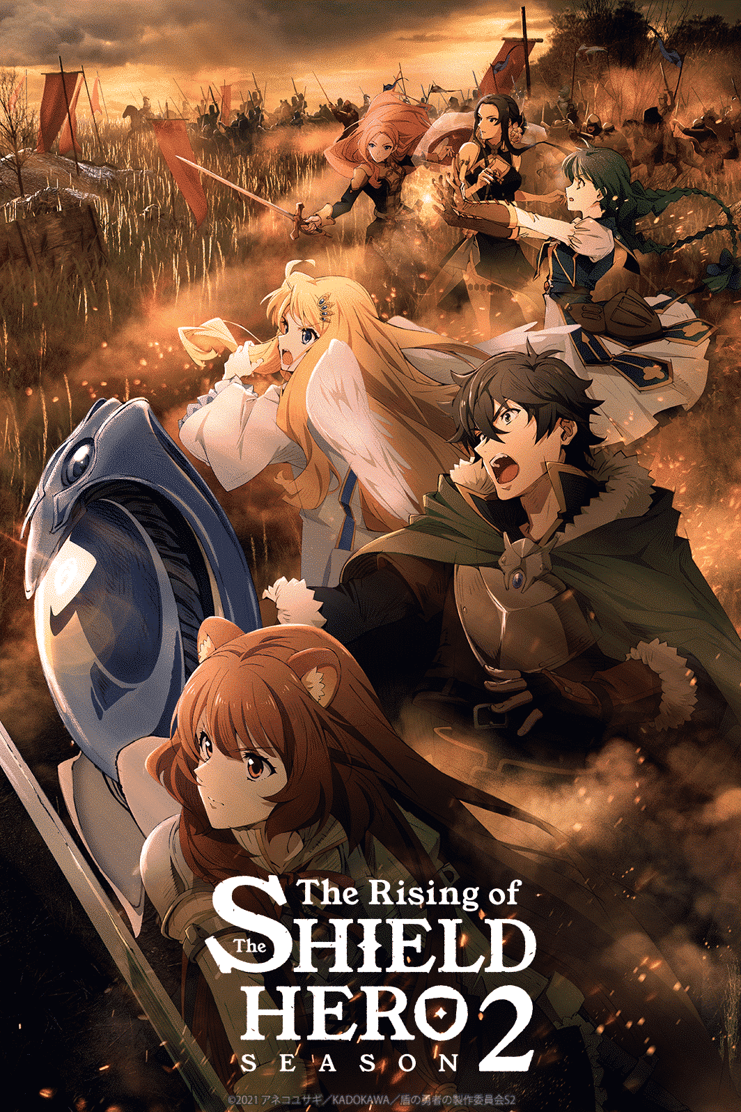 La deuxième saison de The Rising of the Shield Hero arrive en octobre 2