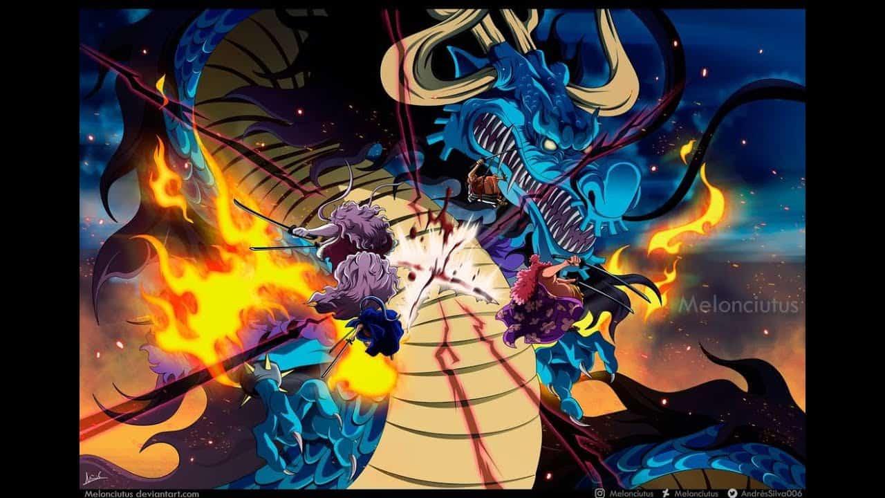One Piece Chapitre 994 un fourreaux rouges blessé 19