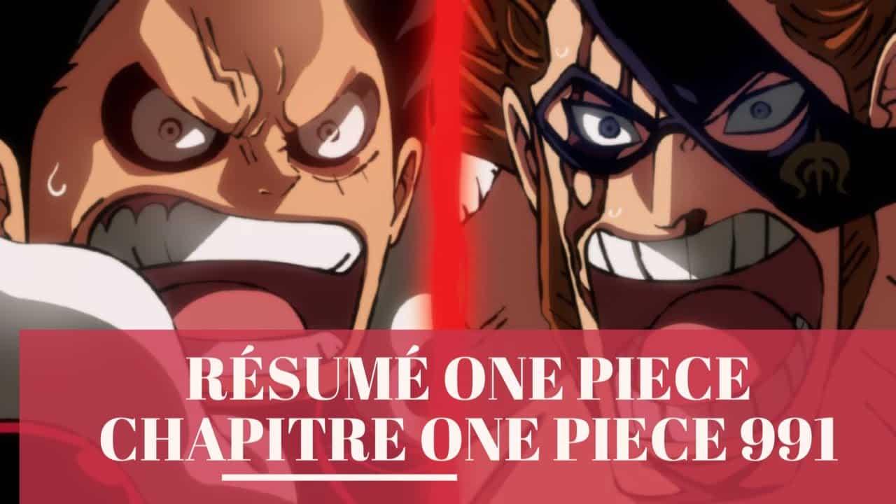 Résumé One piece Chapitre One Piece 991 6