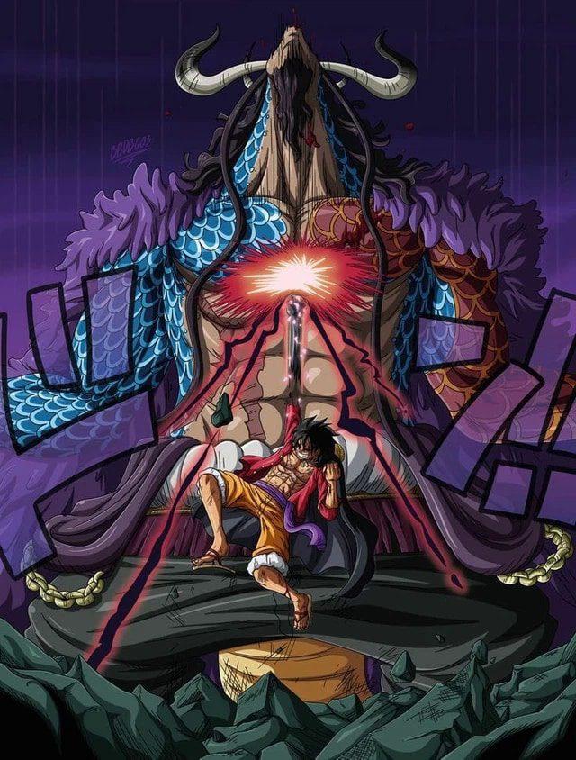 One piece Impressionnés par Kaido à couper le souffle de Luffy, les fans ont soudainement mentionné la bataille de Naruto 2