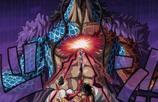 One piece Impressionnés par Kaido à couper le souffle de Luffy, les fans ont soudainement mentionné la bataille de Naruto 5