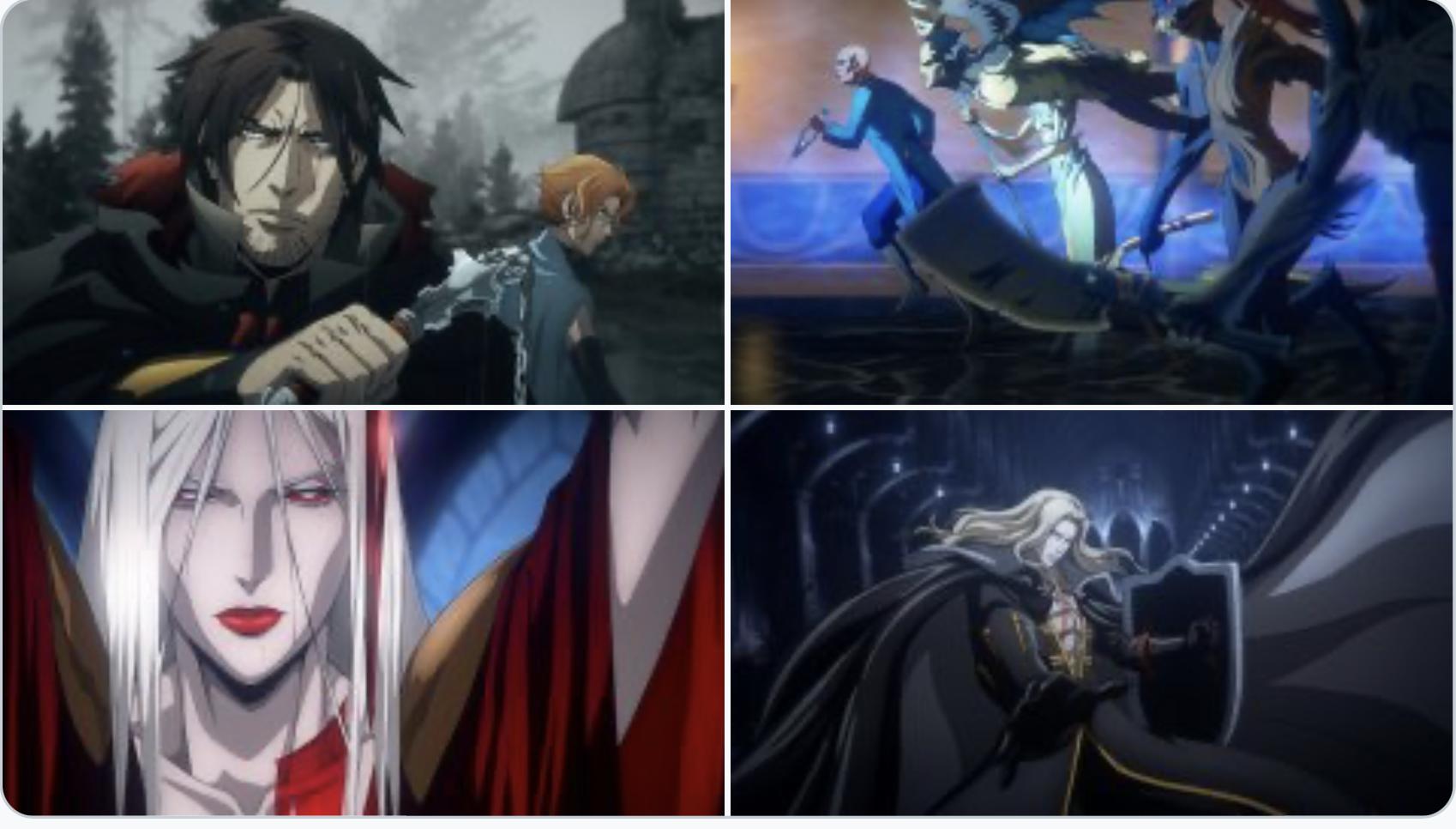 La saison 4 de Castlevania dévoile de nouvelles images sanglantes. 1